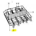 V-zug roulettes du panier inf. / SAV / 8pces lave-vaisselle