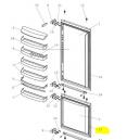 V-Zug joint magnétique porte congélateur 5/6 réfrigérateur