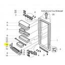 V-Zug support gauche barre protège-bouteilles réfrigérateur